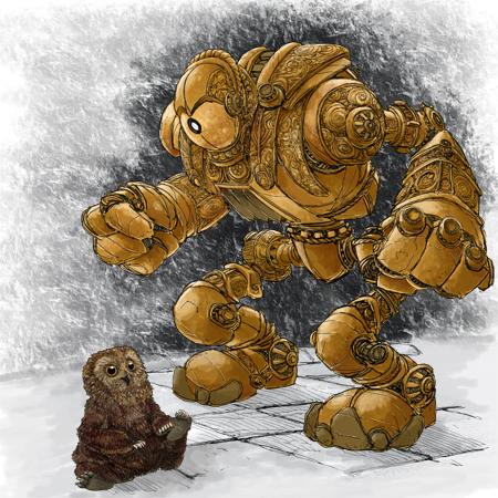 Grr'Owl